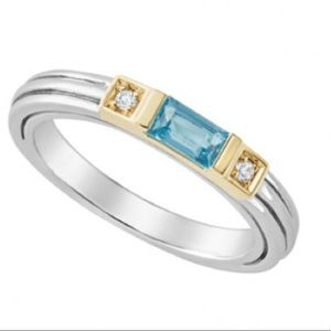 LAGOS Blue Topaz Ring